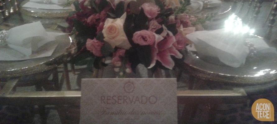 Menu e Reservado Casamento Flávia e Luiz