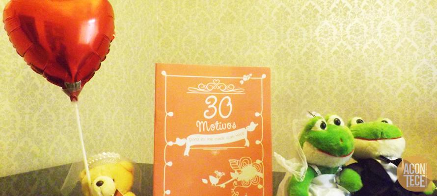Livro 30 motivos para me casar com voc